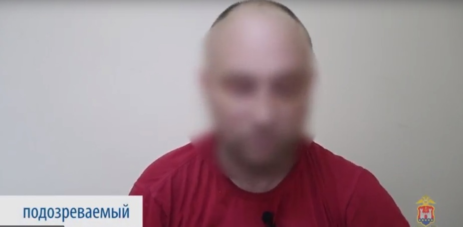 На фото подозреваемый / Кадр видеозаписи пресс-службы регионального УМВД