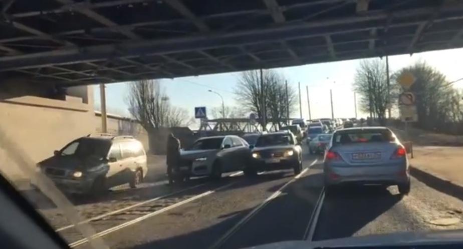 Фото: кадр из видео очевидца