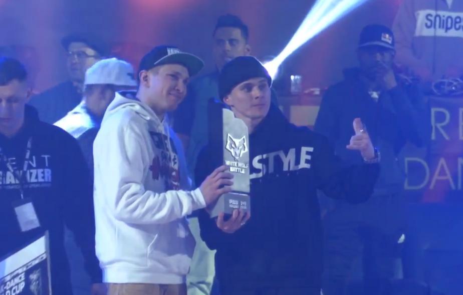 Скриншот с видеозаписи соревнования