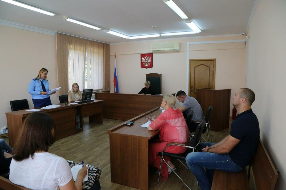 Фото: пресс-служба Калининградского областного суда