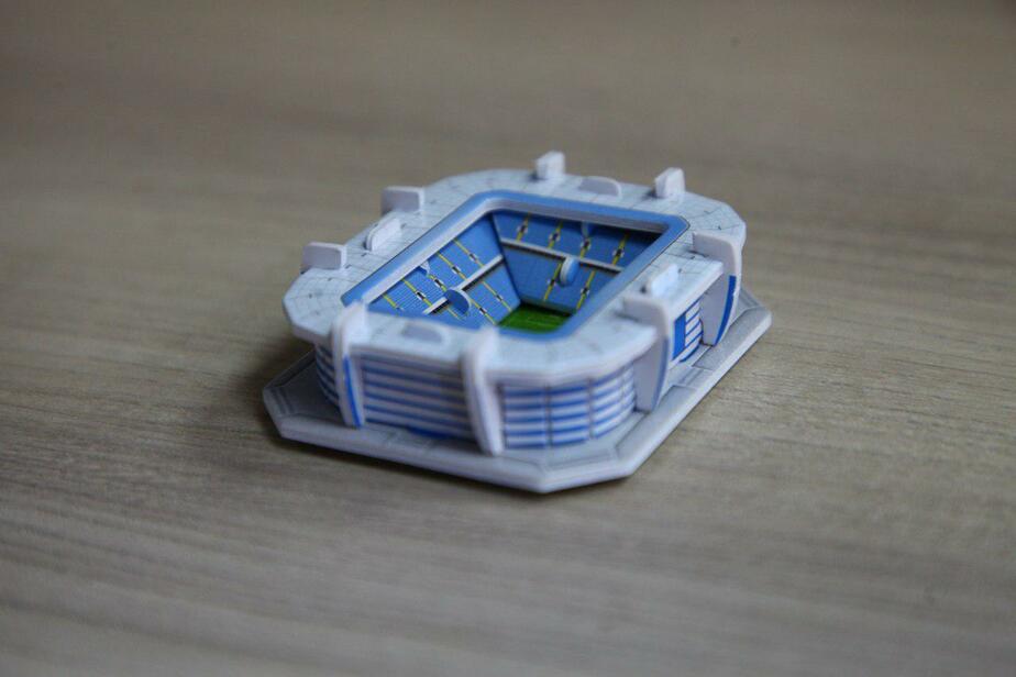 "На фото 3D-модель стадиона / Фото: ""Клопс"""