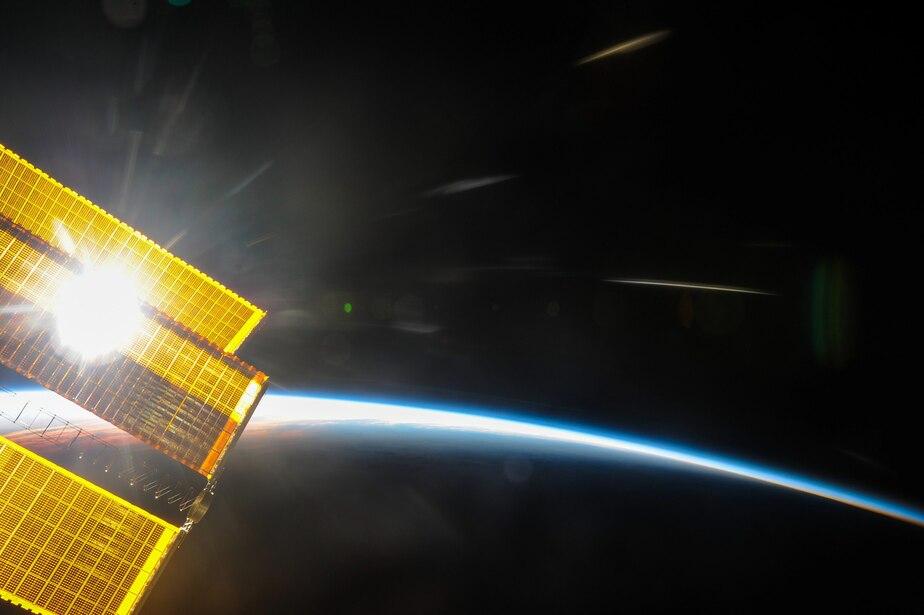 Фото: космонавт Роскосмоса Антон Шкаплеров