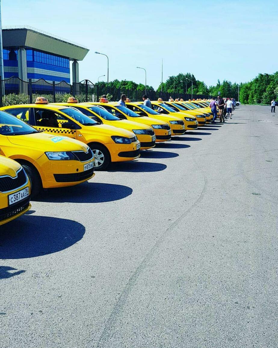Шашечки и экологический класс: чиновники осмотрели первые 60 такси, которые будут работать на ЧМ - Новости Калининграда | Архив клопс