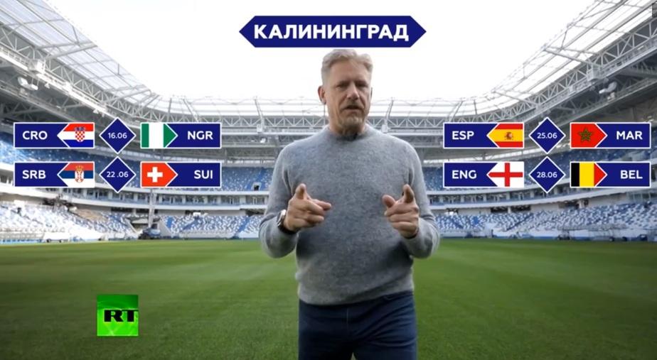Кадр видеозаписи RT