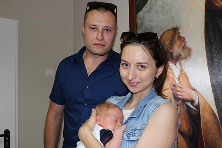 На фото семья Романковых  | Фото: пресс-служба правительства Калининградской области