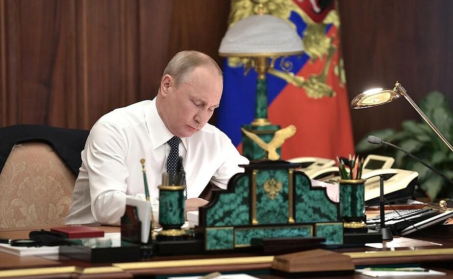 Владимир Путин подписал закон о контрсанкциях  - Новости Калининграда   Фото: kremlin.ru