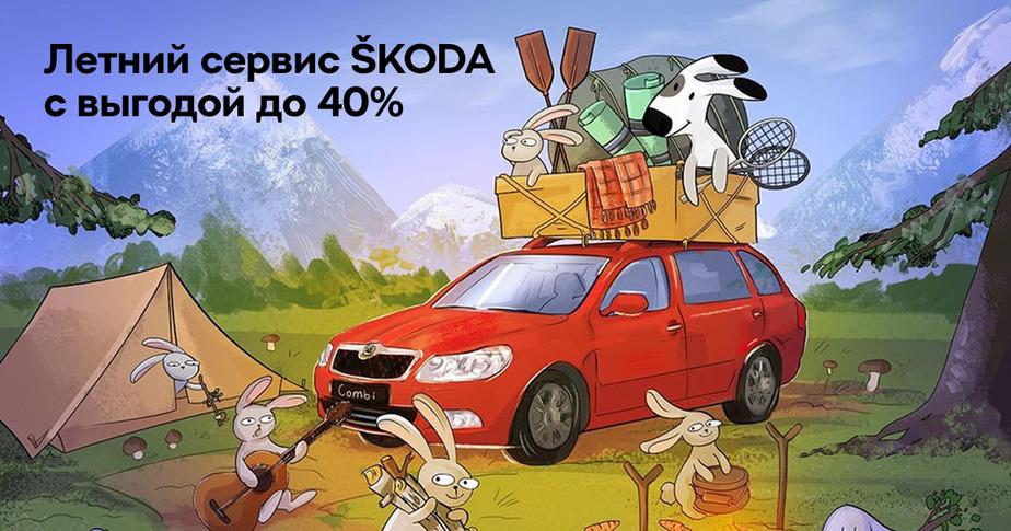 ŠKODA ОТТО КАР: сервисные услуги с выгодой до 40% - Новости Калининграда