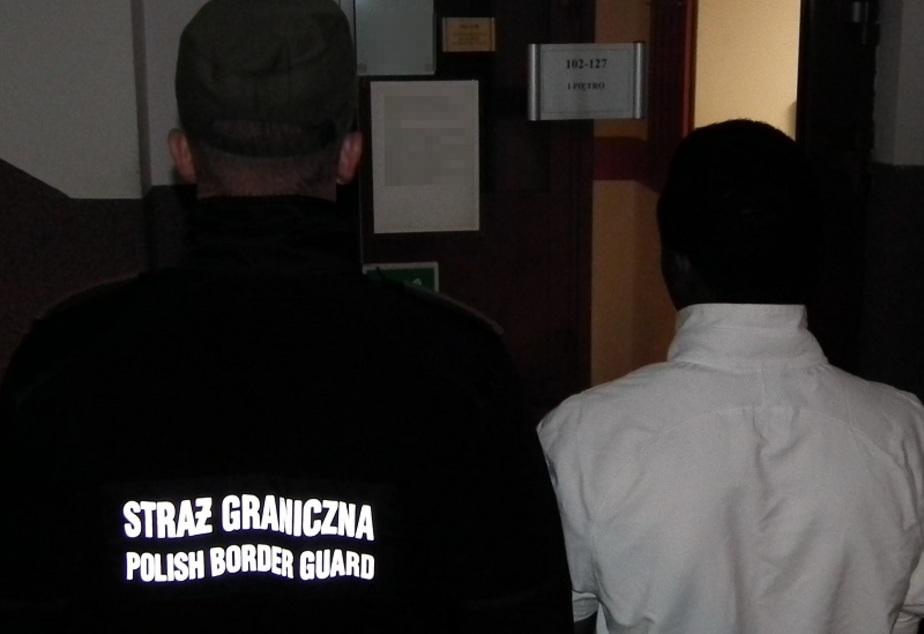 На польской границе задержали нигерийца с поддельной визой - Новости Калининграда | Фото: пресс-служба Варминьско-Мазурского пограничного отдела