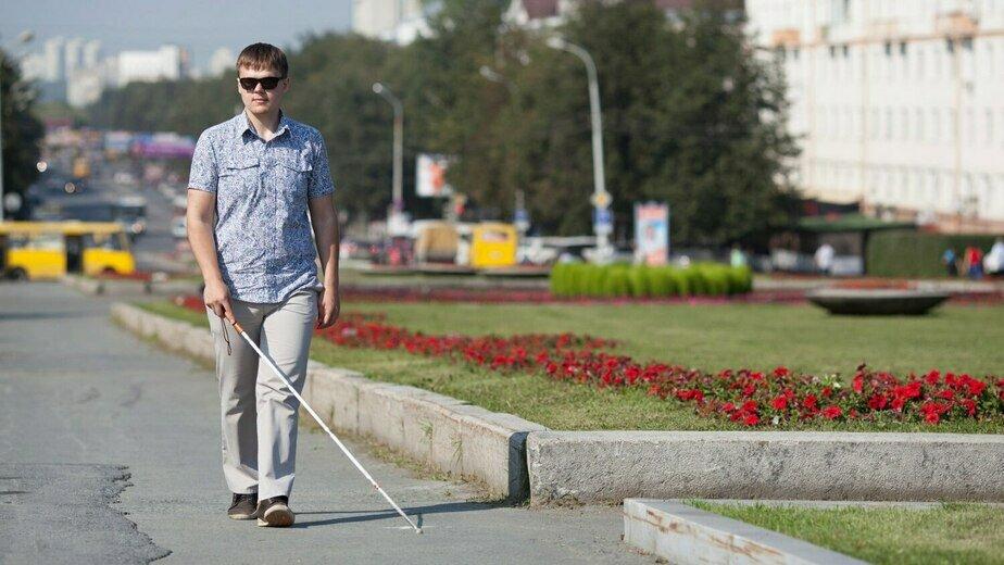 "На фото Владимир Васкевич | Фото: координаторы проекта ""Путешествие без границ"""