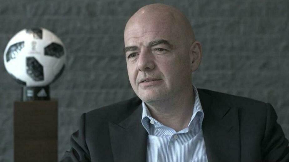 На фото Джанни Инфантино | Фото: пресс-служба FIFA