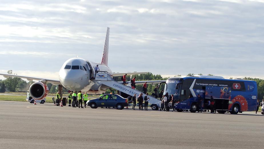 "Фото: пресс-служба аэропорта ""Храброво"""