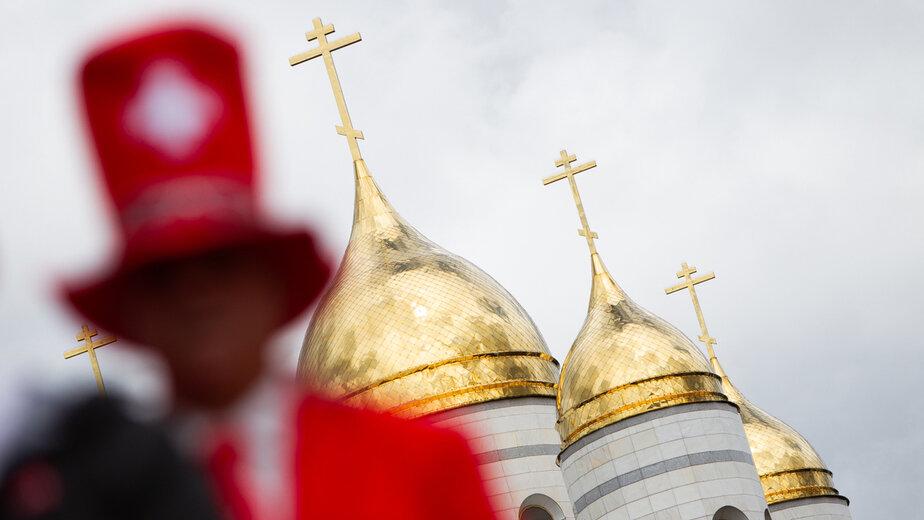 Калининград перед матчем Сербия — Швейцария: фоторепортаж - Новости Калининграда