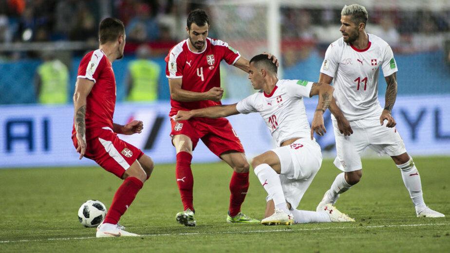 Сербия обратится в FIFA из-за спорных моментов калининградского матча со Швейцарией - Новости Калининграда | Фото: Александр Подгорчук