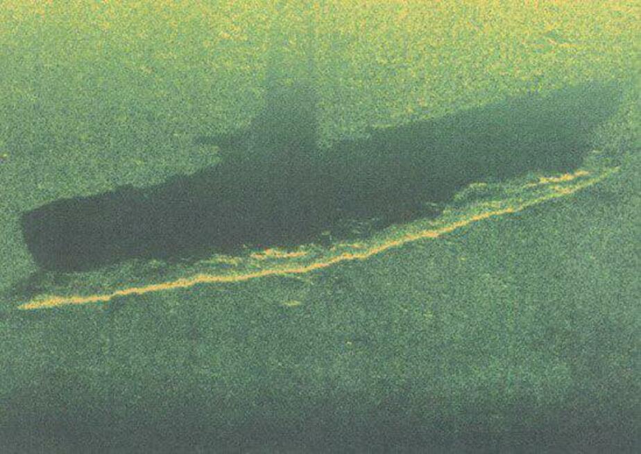 Моряки Балтфлота нашли затонувшую подводную лодку времён войны - Новости Калининграда | Фото: пресс-служба Западного военного округа по Балтфлоту