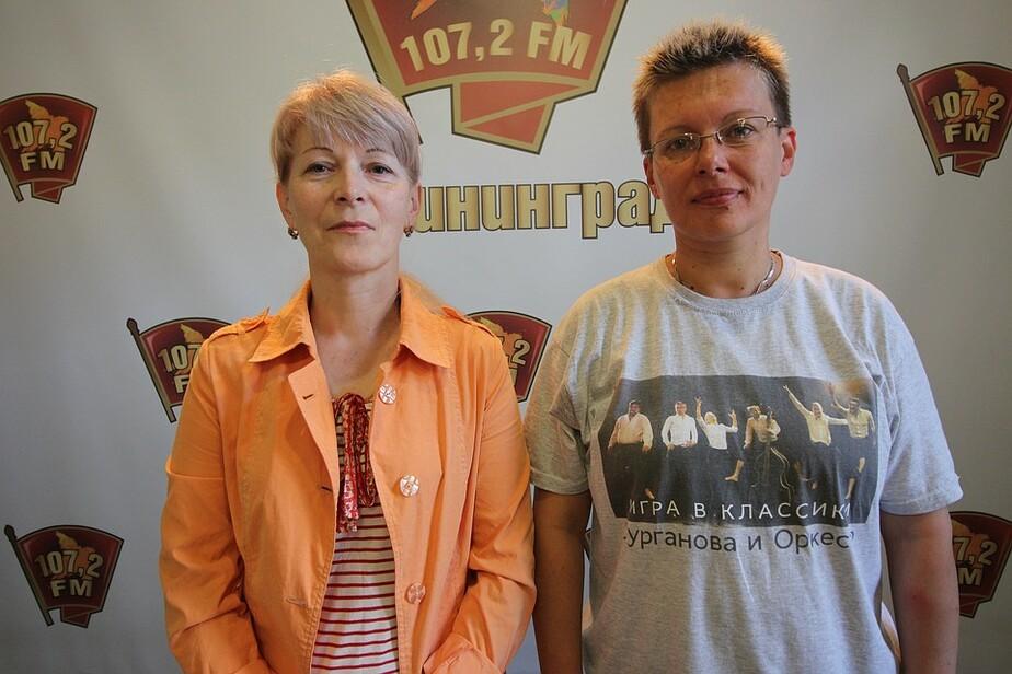 На фото Елена Сумская (слева)  и проекта Татьяна Маркеева | Фото: Иван Марков