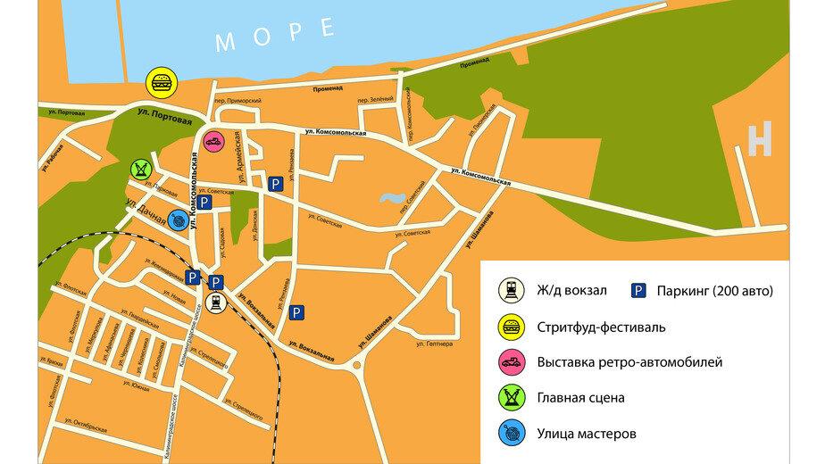 Как добраться до стритфуд-фестиваля в Пионерском (карта) - Новости Калининграда | Фото: организаторы фестиваля