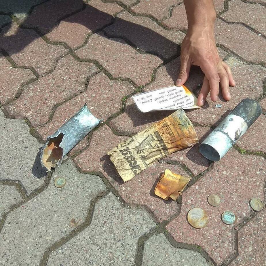 Пролетавший сокол столкнул со шпиля Кафедрального собора 24-летнюю памятную капсулу - Новости Калининграда