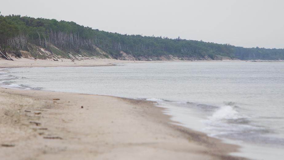 """Стали известны обстоятельства гибели мужчины, утонувшего в Куршском заливе с собакой   Архив """"Клопс"""""""