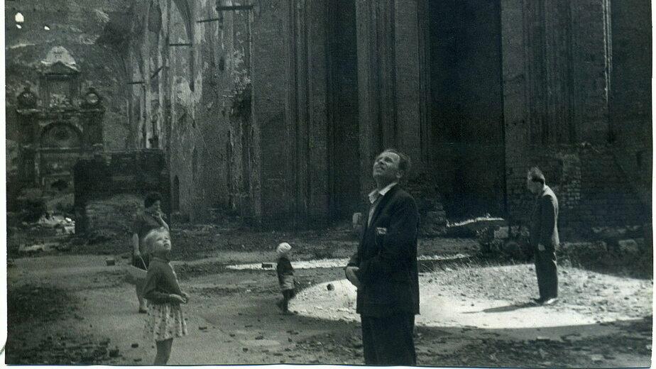 Кафедральный собор, конец 1950-х  | Фото из семейного альбома Р.Ю. Красавиной