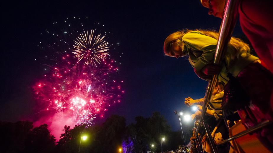 В Калининграде в честь Дня города состоялся фейерверк (фоторепортаж) - Новости Калининграда