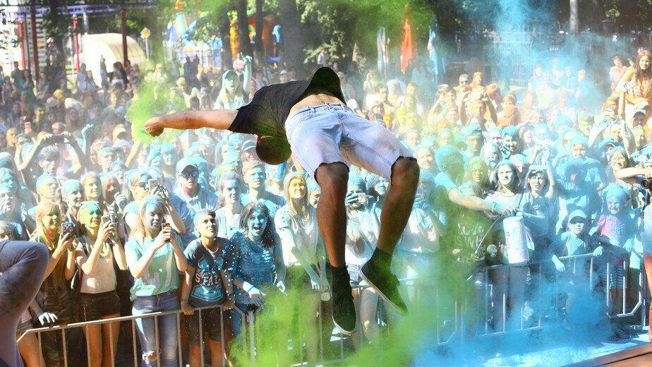 Как в Калининграде отмечают День города (фоторепортаж) - Новости Калининграда | Фото: Виктор Буздин
