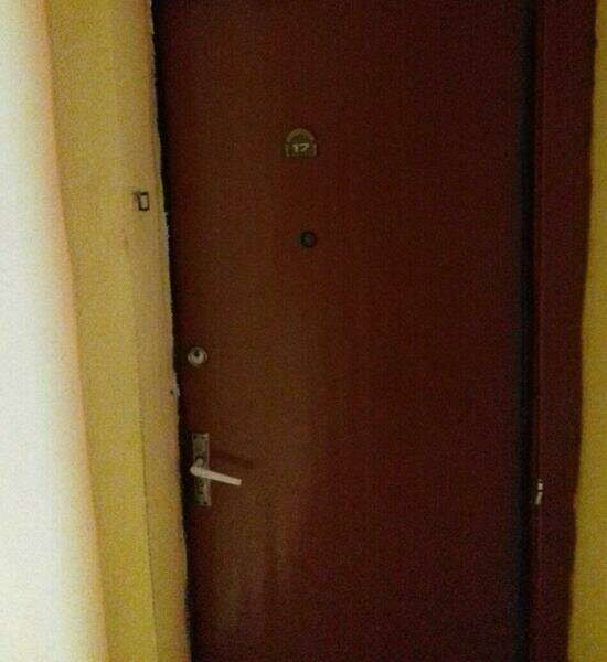 "Квартира, где произошло убийство | Фото: Александр Адерихин / ""Клопс"""