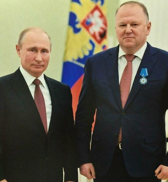 Путин вручил Цуканову орден Почёта - Новости Калининграда
