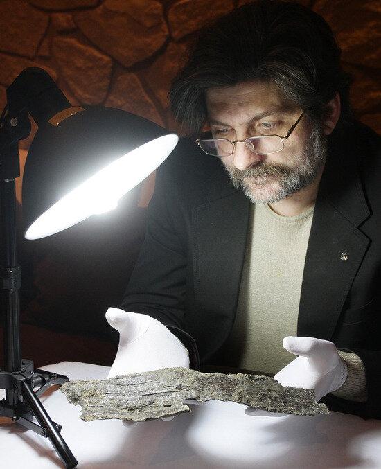 Константин Скворцов, археолог