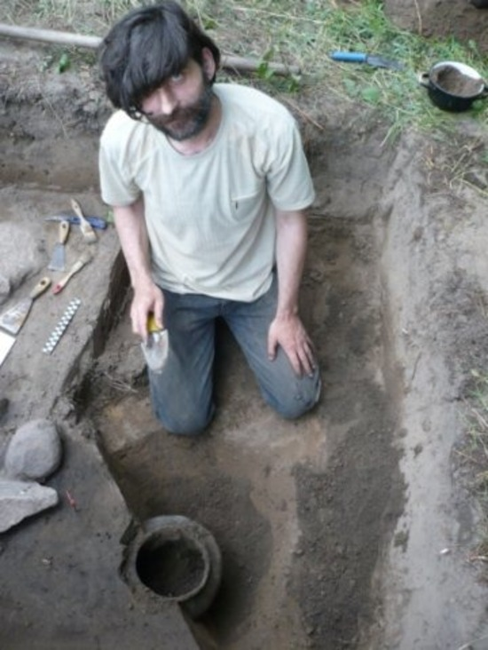 Археологическая романтика: жара, тяжёлая физическая работа | Фото из личного архива археолога