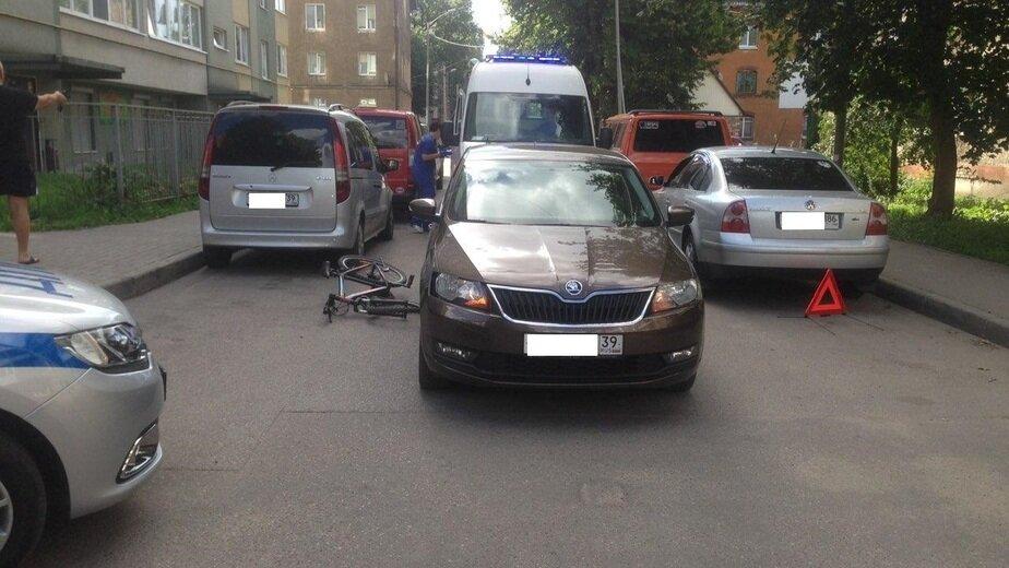 На улице Баранова за воскресенье сбили двух велосипедистов - Новости Калининграда   Фото: пресс-служба регионального УМВД