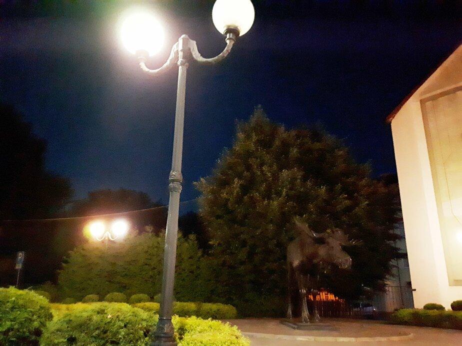 В Советске установят фонари, которые могут следить за городом - Новости Калининграда | Фото со страницы Николая Воищева / Facebook