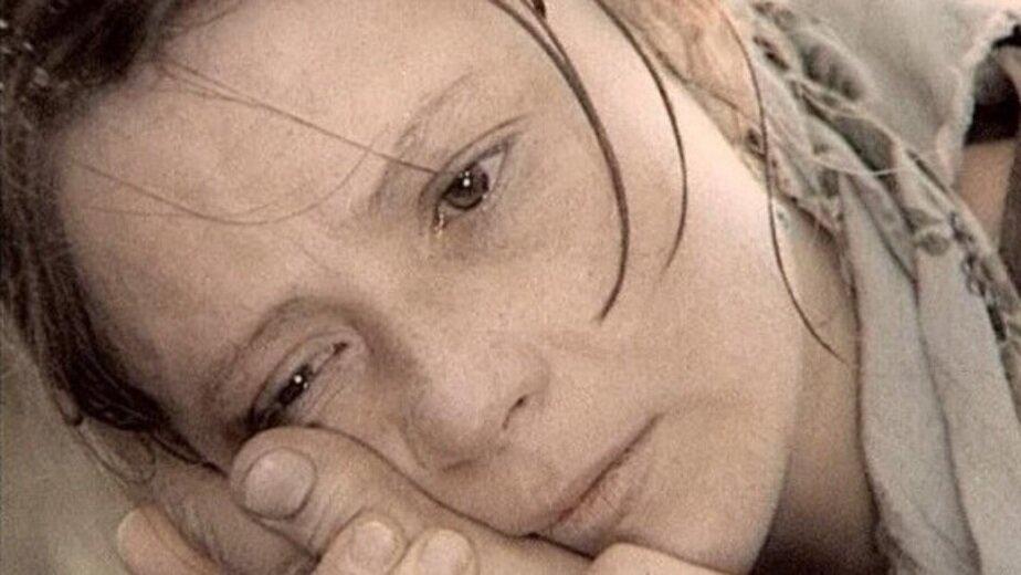 """Тамара Дегтярёва в роли Агаты. Кадр из фильма """"Вечный зов"""""""