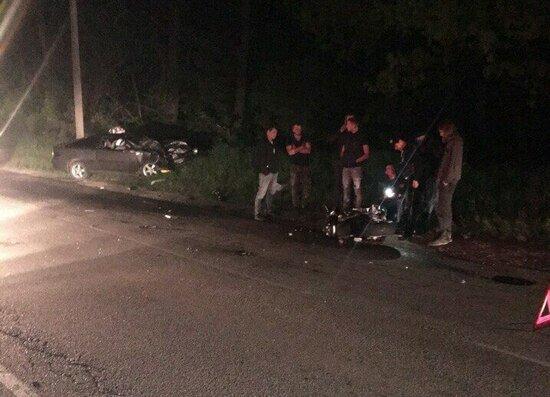 В Зеленоградске вынесли приговор водителю Ford, по вине которого погибли мотоциклист с пассажиром под Балтийском - Новости Калининграда | Фото: очевидец