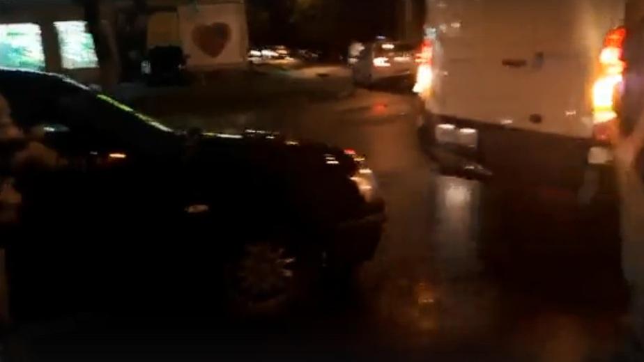 """Фото: кадр из видеозаписи в """"Сообществе автомобилистов Калининграда и области"""""""