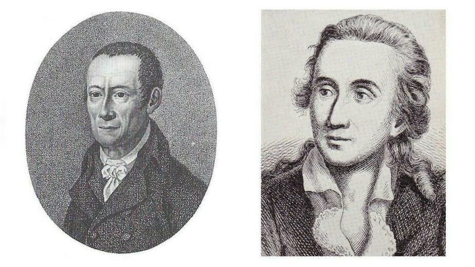 Кристиан Краус и Теодор Гиппель | Фото: Бильдархив