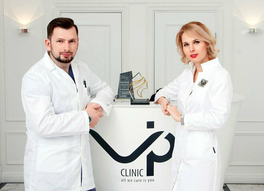 Пластический хирург Сергей Круглик и главный врач, косметолог, пластический хирург Екатерина Круглик