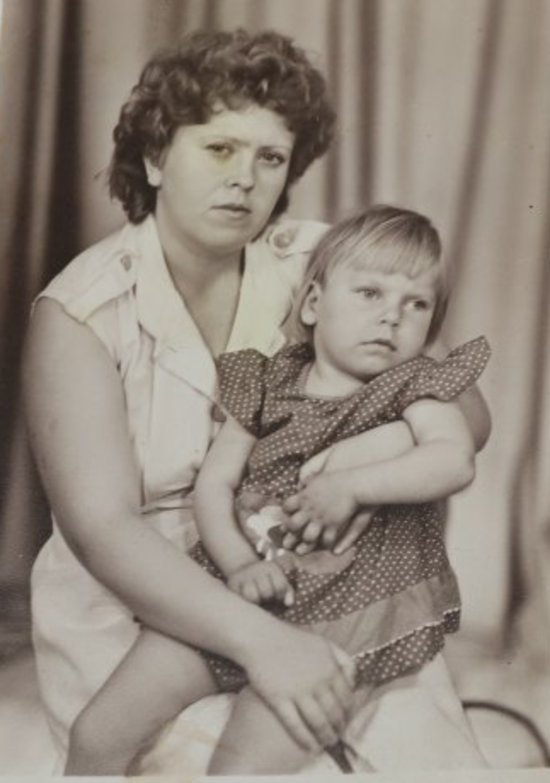 На фото Елена Бауэр с дочерью Яной | Фото: личный архив семьи