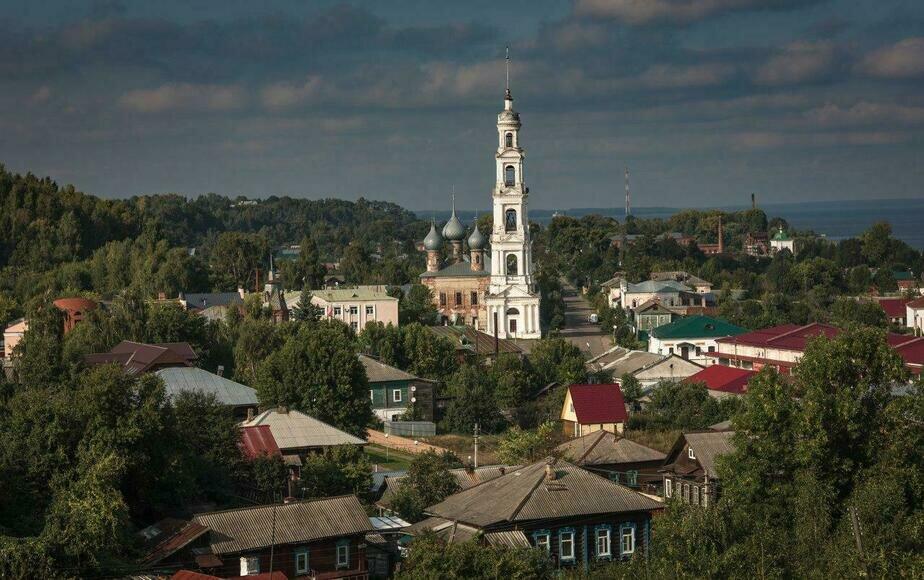 Город Юрьевец, родина Андрея Тарковского | Сергей Шандин