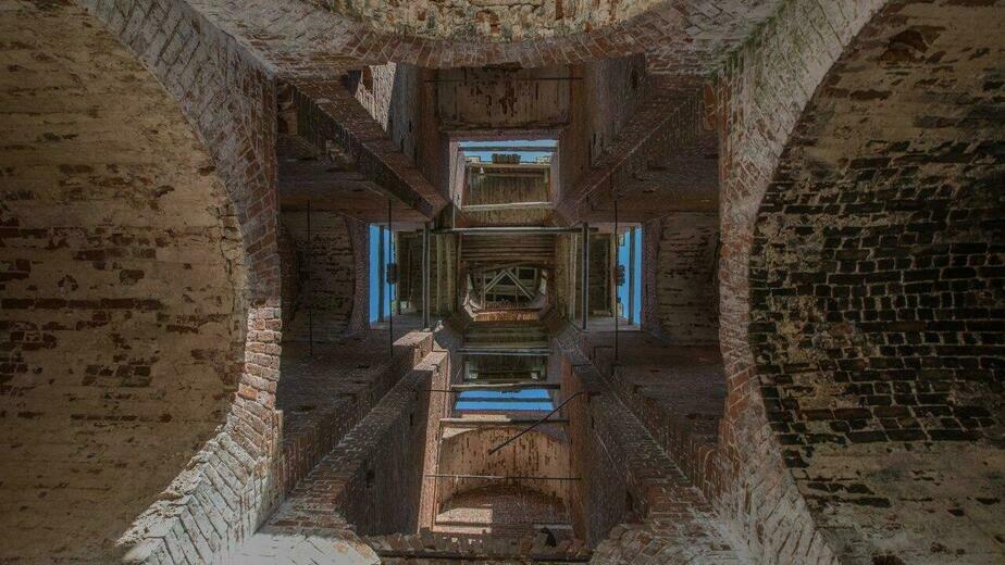 Вид на купол колокольни, Гаврилов Посад | Сергей Шандин