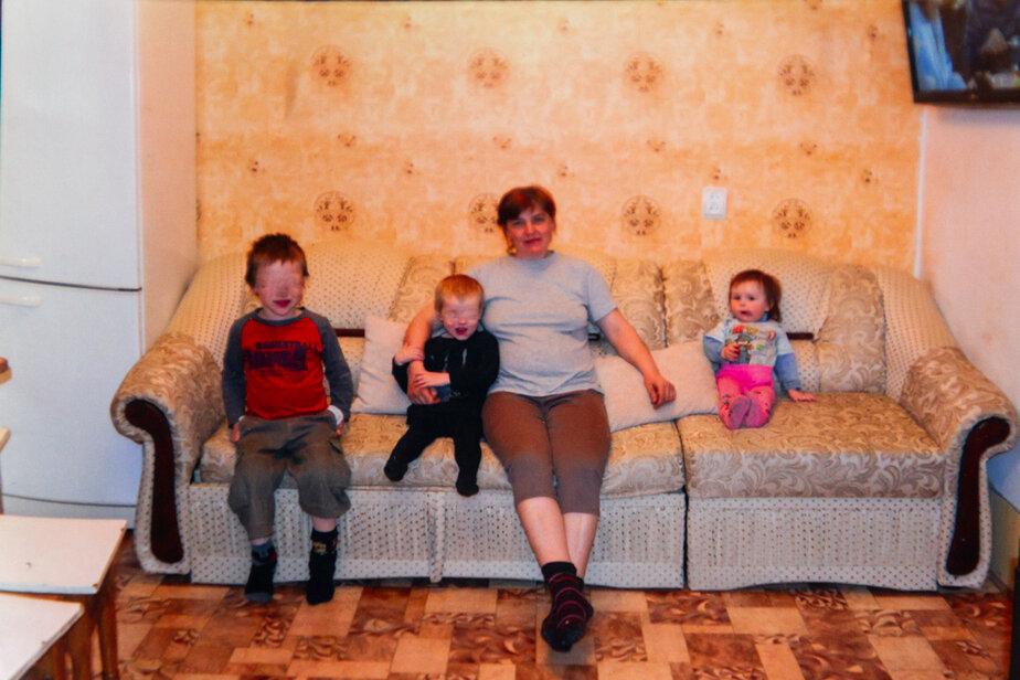 Наталья с сыновьями и Юлей | из архива семьи