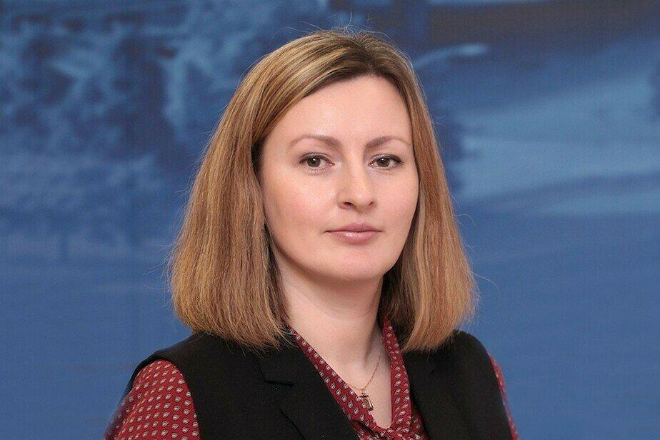 На фото Ирина Ткаченко | Фото: пресс-служба правительства Калининградской области