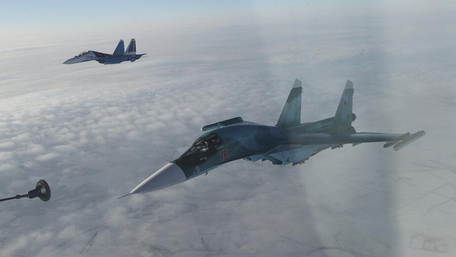 В Калининградской области отработают дозаправку истребителей в воздухе - Новости Калининграда | Фото: пресс-служба Министерства обороны РФ