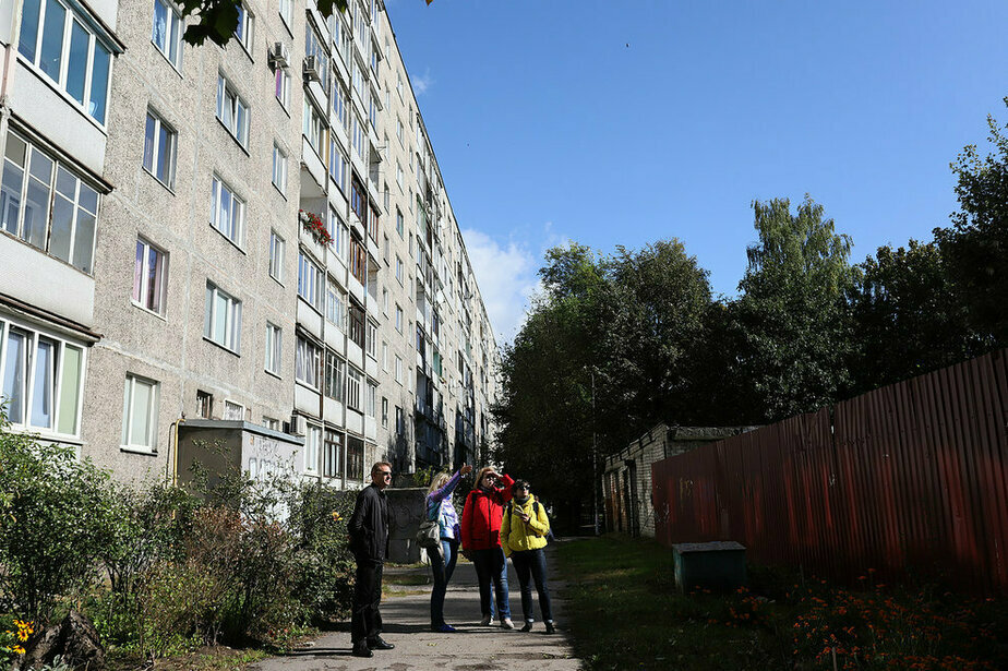 Здесь жили те. кто мог позволить себе кооперативную квартиру | Фото: Александр Матвеев