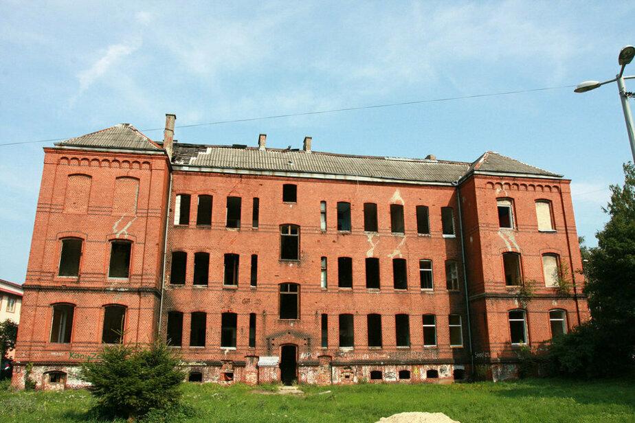 Здание бывшей немецкой школы для девочек им. Гете | Фото: Александр Матвеев