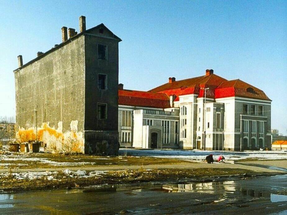 Самый узкий дом в Калининграде | Фото: Частная коллекция