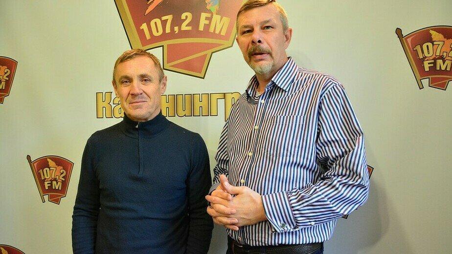 Владислав (слева), Евгений Грязнов | Фото: Александр Катеруша