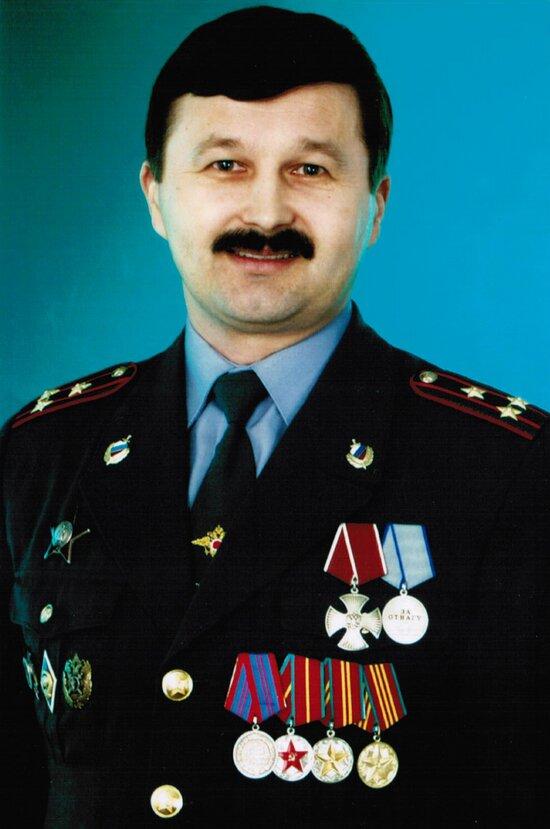 Полковник милиции Николай Егоров   Фото: личный архив Николая Егорова
