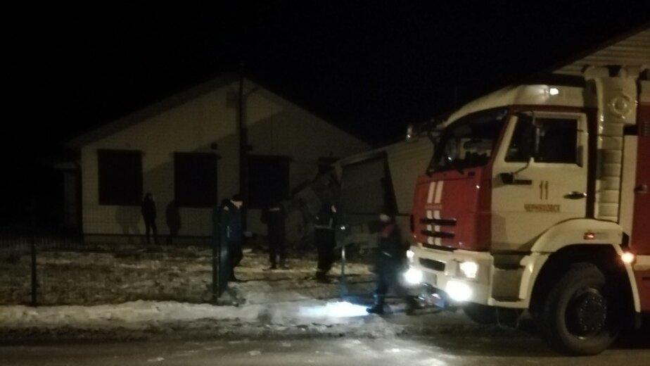 Очевидцы: в новом медпункте Черняховска произошёл взрыв (фото, видео) - Новости Калининграда   Фото очевидца