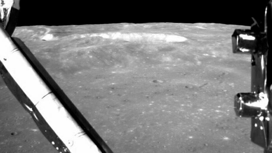Опубликовано видео посадки космического аппарата на обратную сторону Луны - Новости Калининграда | Фото: кадр из видео