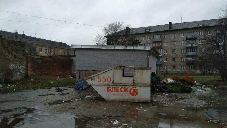 На контейнерных площадках в Калининградской области продолжает копиться мусор (фото) - Новости Калининграда | Фото: очевидец
